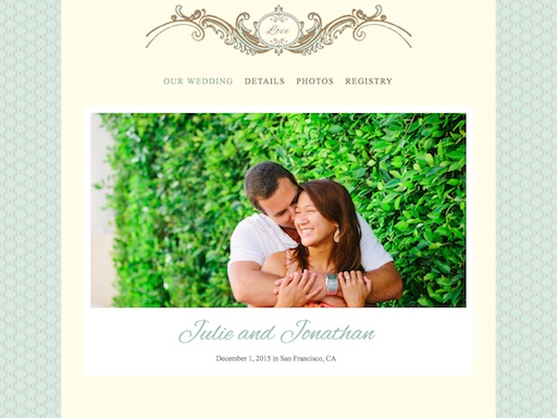 Tie The Knot Free Wedding Website